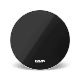 Evans BD24RB-NP 24inch EQ3 Reso Black, No Port Bass Drumhead