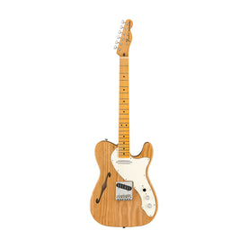 Fender American Original 60s Telecaster Thinline Electric Guitar, Maple FB, Aged Natural
