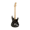Fender Artist Buddy Guy Stratocaster Guitar, Maple Neck, Polka Dot Finish, w/Gigbag