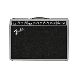 Fender Limited Edition 65 Deluxe Reverb Guitar Combo Tube Amplifier, Gray Black, 230V UK