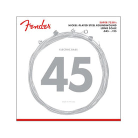 Fender 72505M Nickel Plated Steel Roundwound 5-String Long Scale Bass Guitar Strings, 45-125