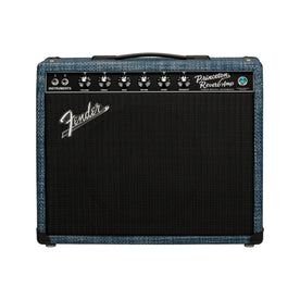 Fender FSR 65 Princeton Guitar Combo Tube Amplifier, Chilewich Denim, 230V UK