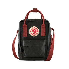 Fjallraven Kanken Sling, Black-Ox Red