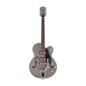 Gretsch G5410T Electromatic Rat Rod Hollow Body Single-Cut Guitar w/Bigsby, Matte Phantom Metallic