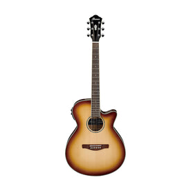 Ibanez AEG10II-NNB Acoustic Guitar, Natural Browned Burst High Gloss