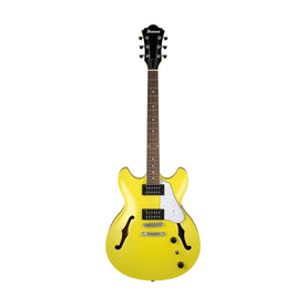 Ibanez Artcore Vibrante AS63-LMY Semi-Hollow Electric Guitar, Lemon Yellow