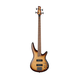 Ibanez SR370E-NNB Electric Bass Guitar, Natural Browned Burst