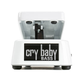 Jim Dunlop 105Q Bass Wah Cry Baby Guitar Effects Pedal, White