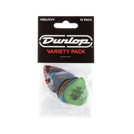 Jim Dunlop PVP102 Variety Pick, 12-Pack