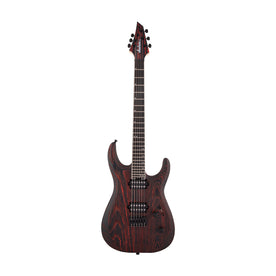 Jackson Pro Series Dinky DK2 Modern Ash HT6 Electric Guitar, Ebony FB, Baked Red