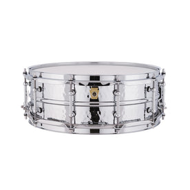 Ludwig LM400KT 5x14inch Supraphonic Chrome-Plated Aluminium Snare Drum, Hammered Shell, Tube Lugs