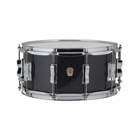 Ludwig LS401XX0R 5x14ich Classic Maple Snare Drum, Black Sparkle