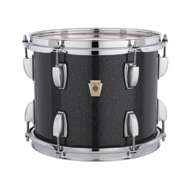 Ludwig LS462MX0R-CSTM 6x12inch Classic Maple Custom Snare Drum, Black Sparkle