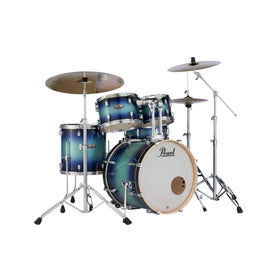 Pearl DMP925SPC-221 Decade Maple 5-Pcs Shell Pack (2218B/1007T/1208T/1616F/1455S), Faded Glory