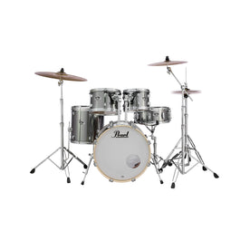 Pearl EXX705NP/C-21 Export EXX 5-Piece Shell Pack (2016B/1007T/1208T/1414F/1455S), Smokey Chrome