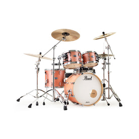 Pearl MCT924XEDP/C-838 MCT 4-Piece Shell Pack w/o Snare (2218BX/1007T/1208T/1616F), Satin Sakura