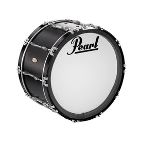 Pearl PBDCP2614A-301 26x14inch Championship CarbonPly Marching Bass Drum w/o Carrier, Carbon Fiber