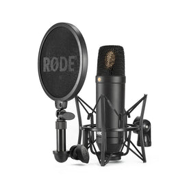 Rode NT1-Kit Large Diaphragm Cardioid Condenser Microphone with SM6 Shockmount