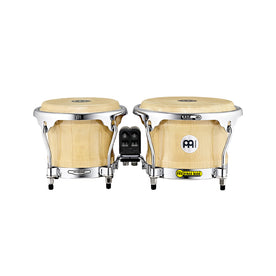 MEINL Percussion BWB400 7+8-1/2inch Woodcraft Series Wood Bongo, Natural
