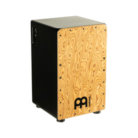 MEINL Percussion PWCP100MB Woodcraft Professional Pickup Cajon, Makah-Burl Frontplate
