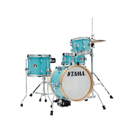 TAMA LJK44H4-AQB Club-JAM Flyer 4-Piece w/ HardwareThrone, Aqua Blue