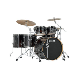 TAMA ML52HLZBNS-DMF Superstar Hyper-Drive Maple 5-Piece Drum Shell Kit, Dark Mocha Fade