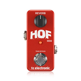 TC Electronic HOF Mini Reverb Guitar Effects Pedal