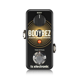 TC Electronic BodyRez Acoustic Pickup Enhancer Guitar Pedal (T33-960819005)