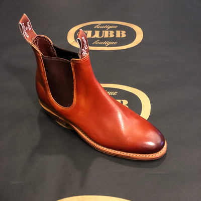 R.M. Williams Adelaide Boot Cognac/Burnished