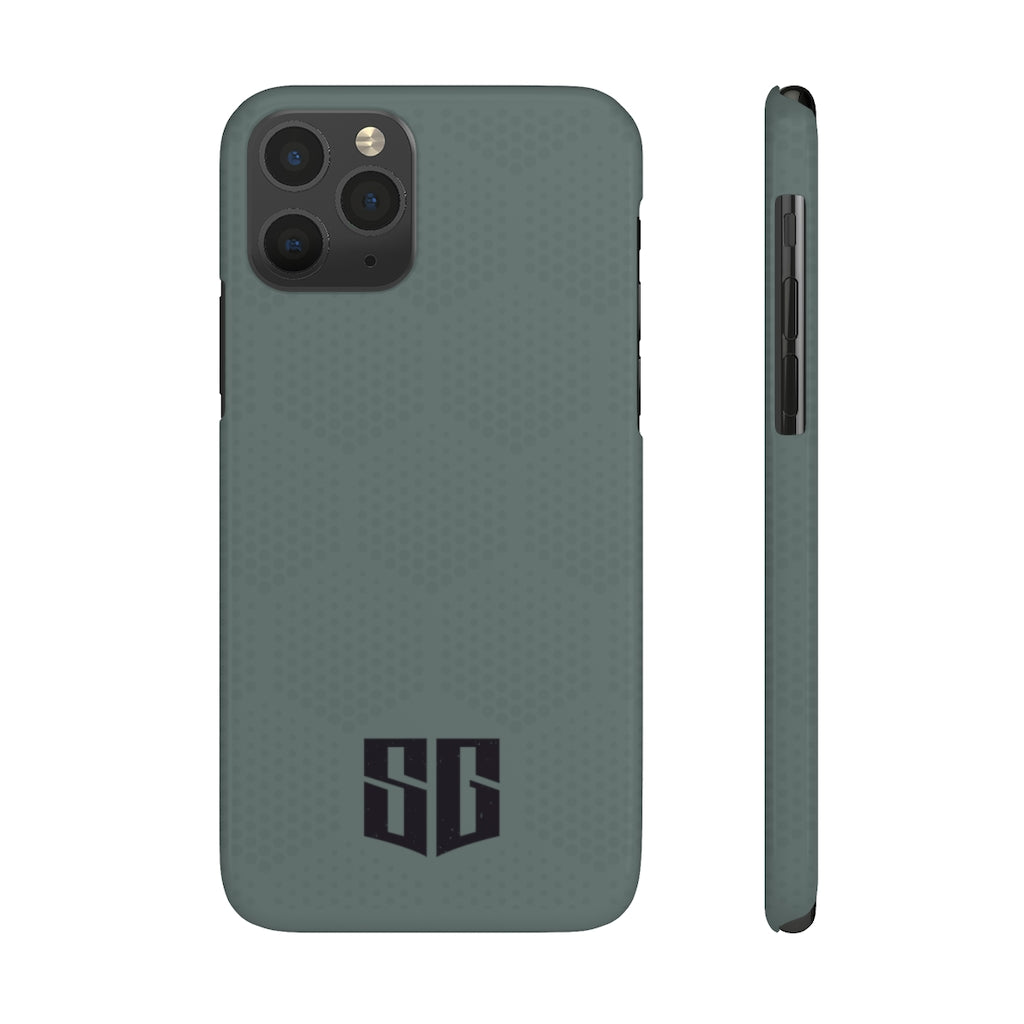 iPhone 11 Case Mate Slim Phone Cases - Army Green