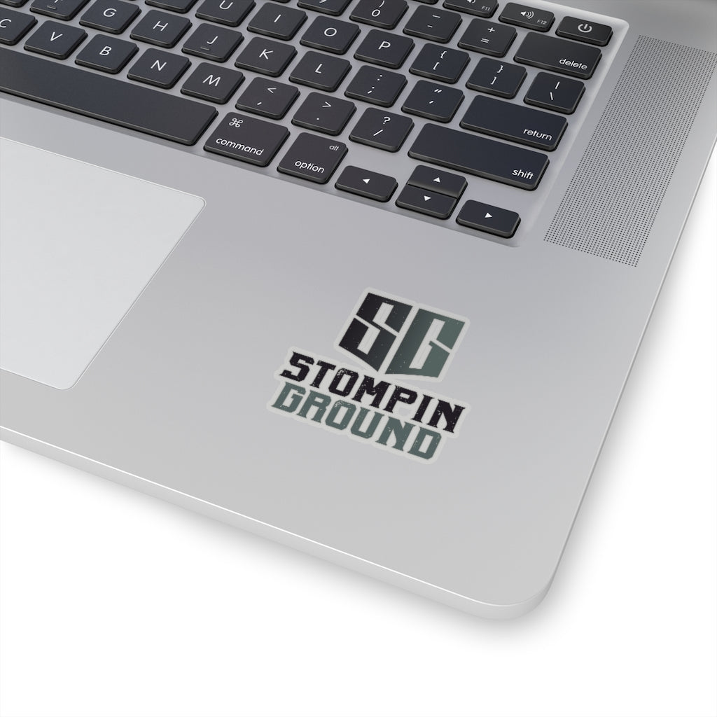 Stompin Ground Logo - Kiss-Cut Stickers