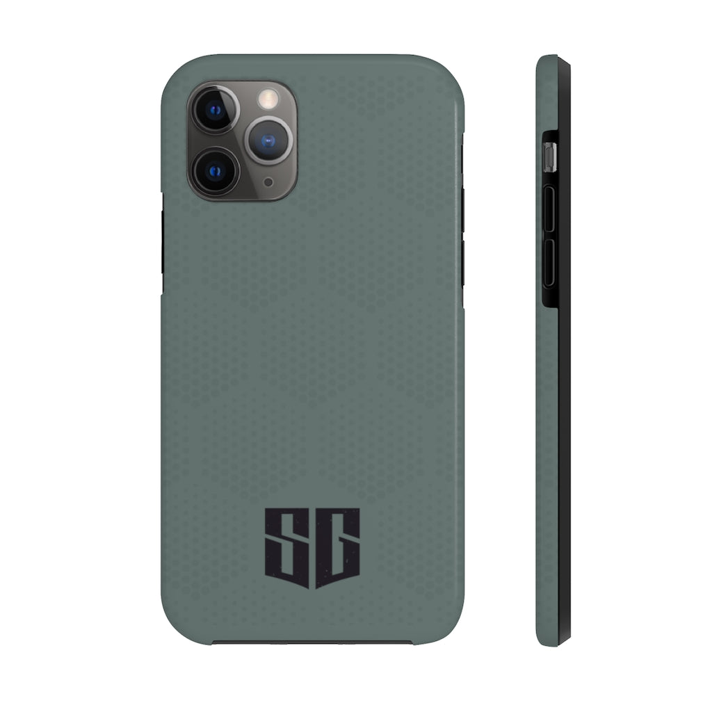 SG iPhone 11 Case Mate Tough Phone Cases - Army Green