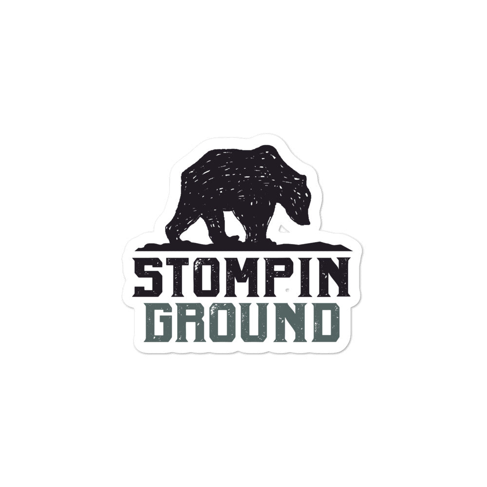 Stompin Ground Stickers