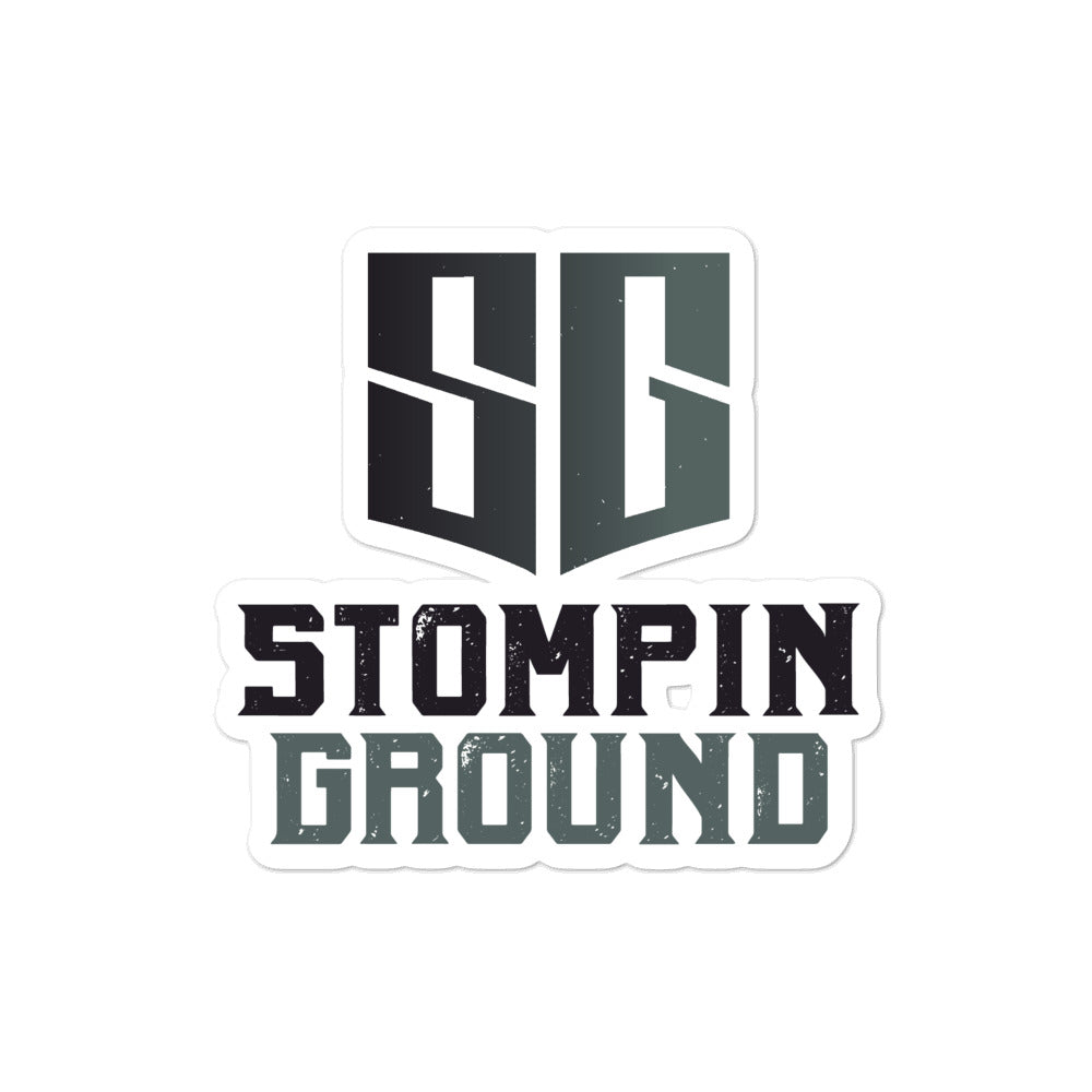 Stompin Ground Official Cut Stickers