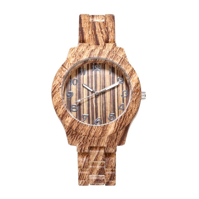 STOMPIN GROUND BAMBOO WATCH