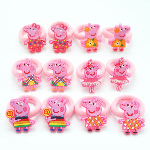 Soft Fabric Peppa Pig Hair Bands