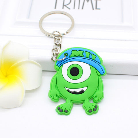 Cute Cartoon Character Keychains