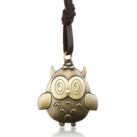 Vintage Cartoon Character Charm Necklace