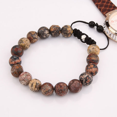 Suave's Amazing Natural Stone Beads Bracelets for Men Accessories