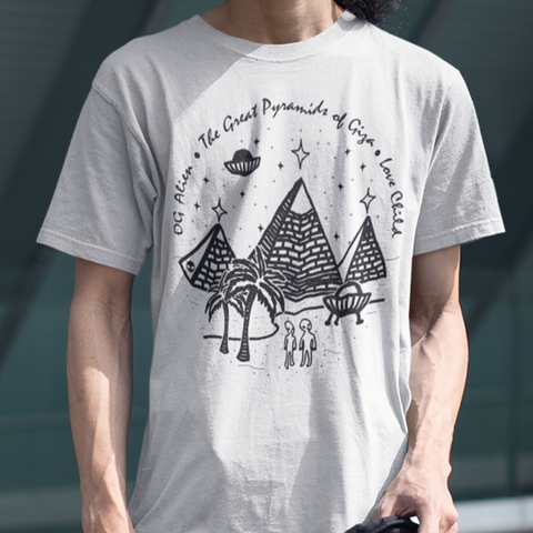 The Great Pyramids <br>Unisex Crewneck T-Shirt