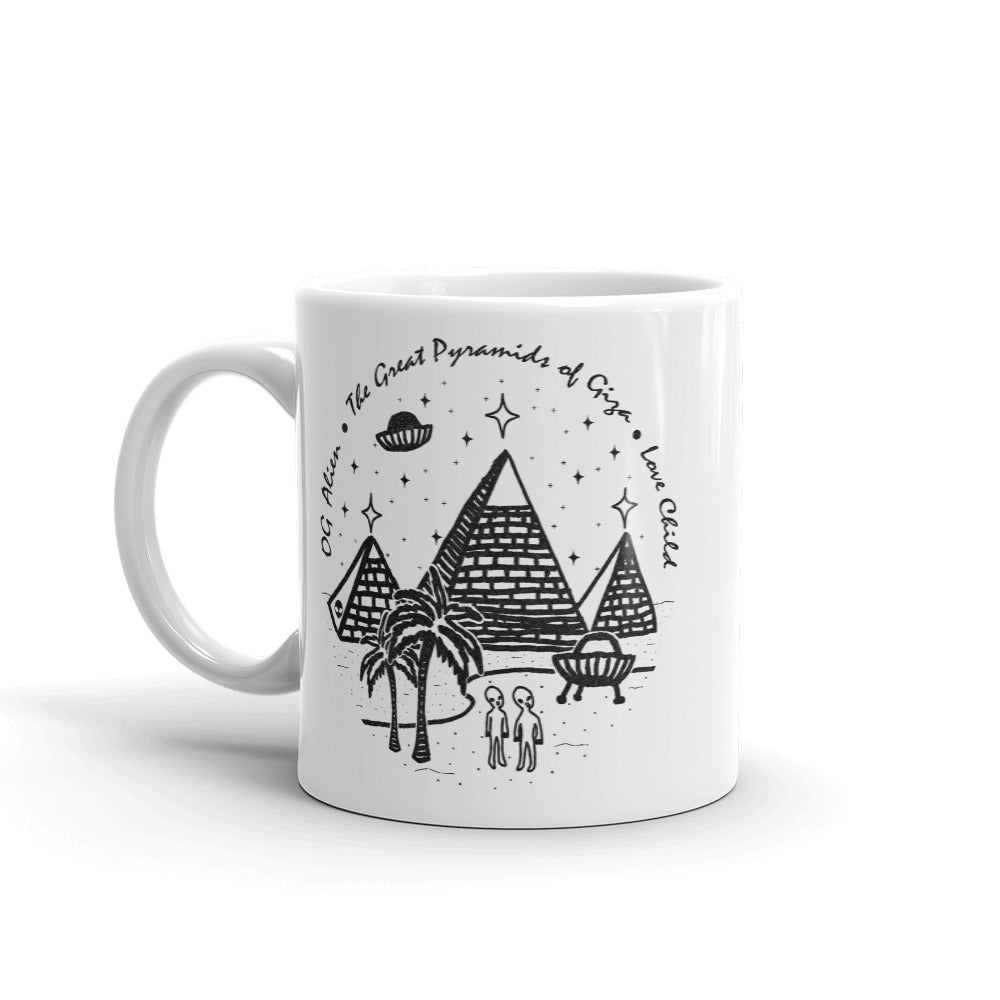 The Great Pyramids <br>Spacey Mug