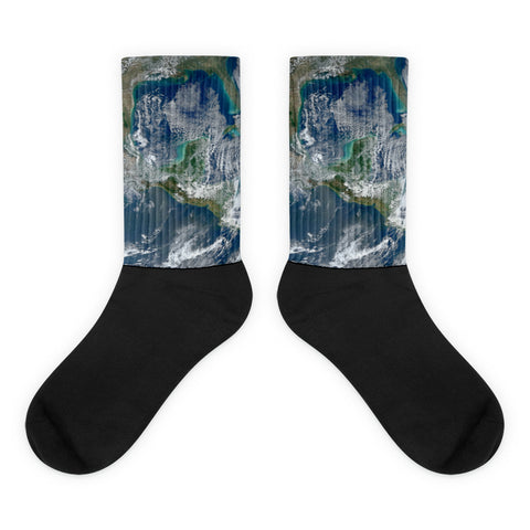 Planet Earth Socks - Alien Love Child