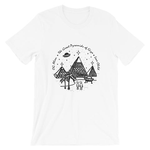 The Great Pyramids<br>Unisex Crewneck T-Shirt
