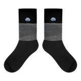 Earth from the Moon<br>Unisex Space Socks
