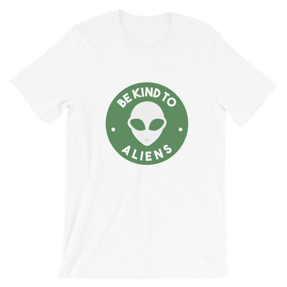 Be Kind To Aliens <br>Unisex Crewneck T-Shirt