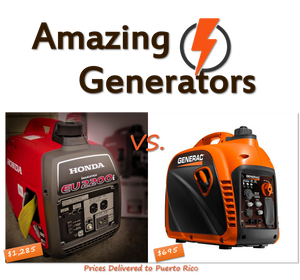 Portable Inverter Generator Review : Honda EU2200i vs. Generac GP2200i