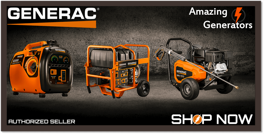 Amazing Generators | Generac Pressure Washers - Servicing