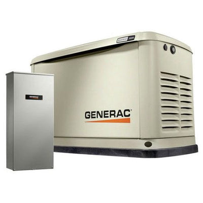 Generac 70432 | 22/19.5 KW Wi-Fi Air-Cooled Standby Generator