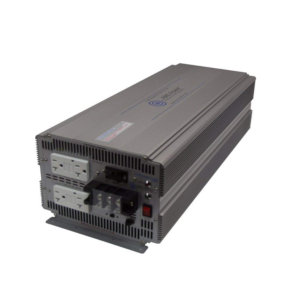 AIMS Power PWRIG500024120S | 5000W Pure Sine Inverter