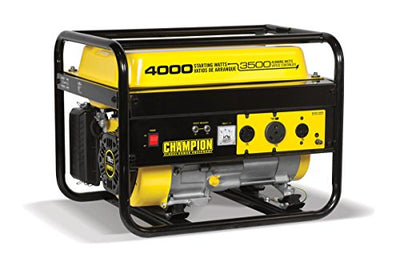Champion 3500W Portable Generator - Free Shipping to Puerto Rico